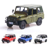 1:32 Alloy Sound Light Pull Back Simulate Car Toy for Kids green