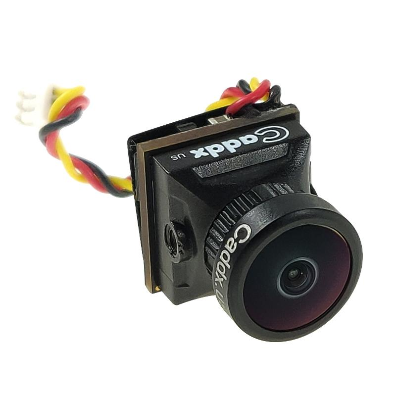 Caddx Turbo EOS2 1200TVL 2.1mm 160 Degree 1/3 CMOS 16:9 Mini FPV Camera NTSC/PAL for RC Drone Black PAL