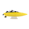 TKKJ H116 RC Boat High Mini H116 2.4G High Mini RC Boat Racing boat Model Toy RC Boat Gift Kids Toy Yellow