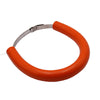 Motorcycle Accessories Silencer/Round Oval Exhaust Protector Can Cover for KTM EXC-F/EXC/SX-F 450/350/530/525/500   Orange