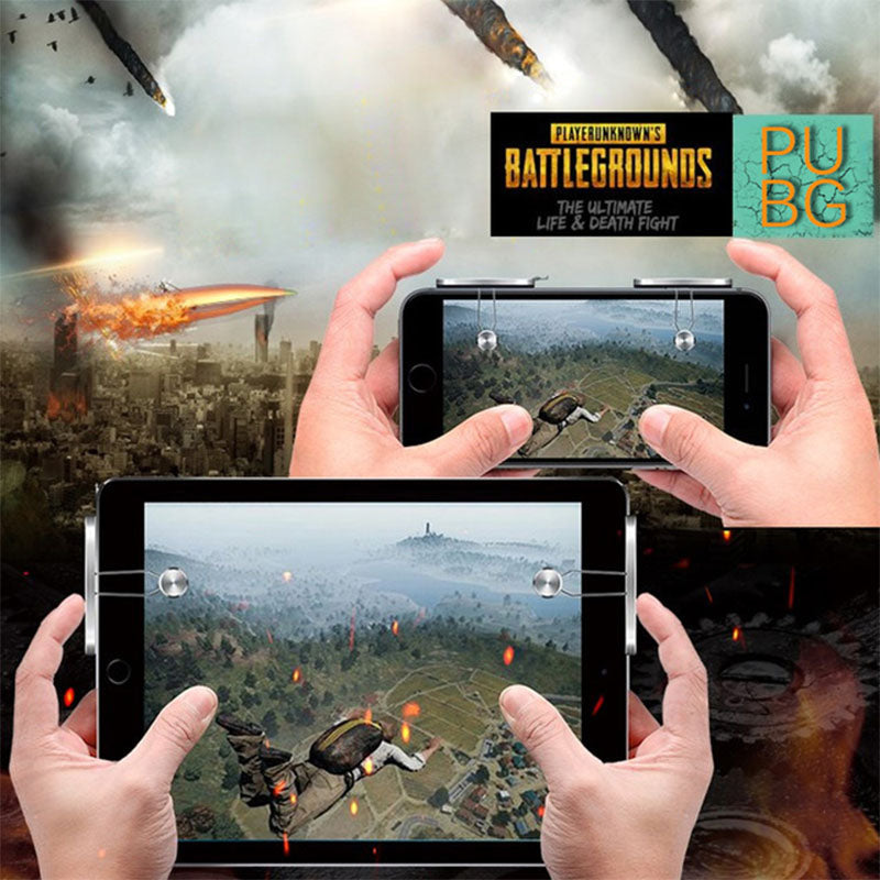 PUBG Mobile Phone Shooter Controller Game Trigger Gamepad Fire Button Handle Cell Phone Tablet Adapter