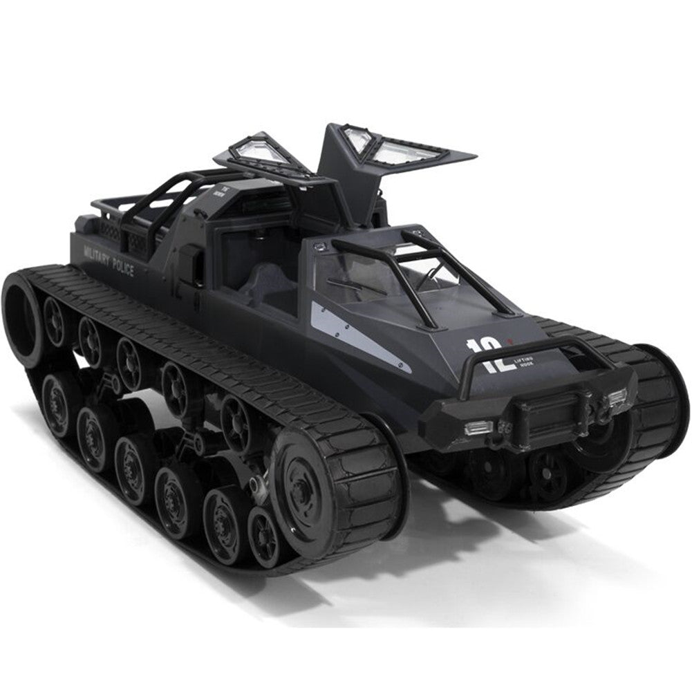 SG 1203 World of RC Tank Car 2.4G 1:12 High Speed Full Proportional Control Vehicle Models Wading Depth With Gull-wing Door Metal Crawler white 1 battery