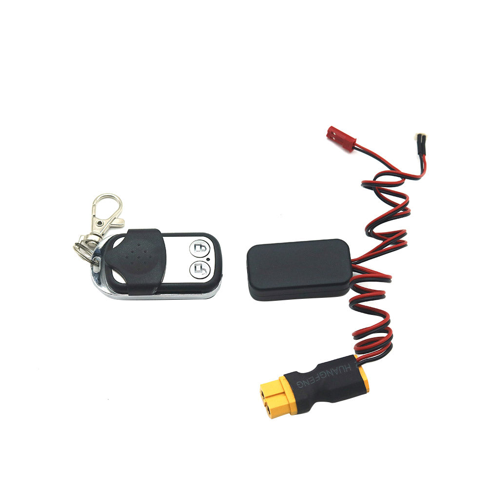 Wireless Winch Controller For RC Car Crawler Part Remote Control Car Accessories XT60 plug