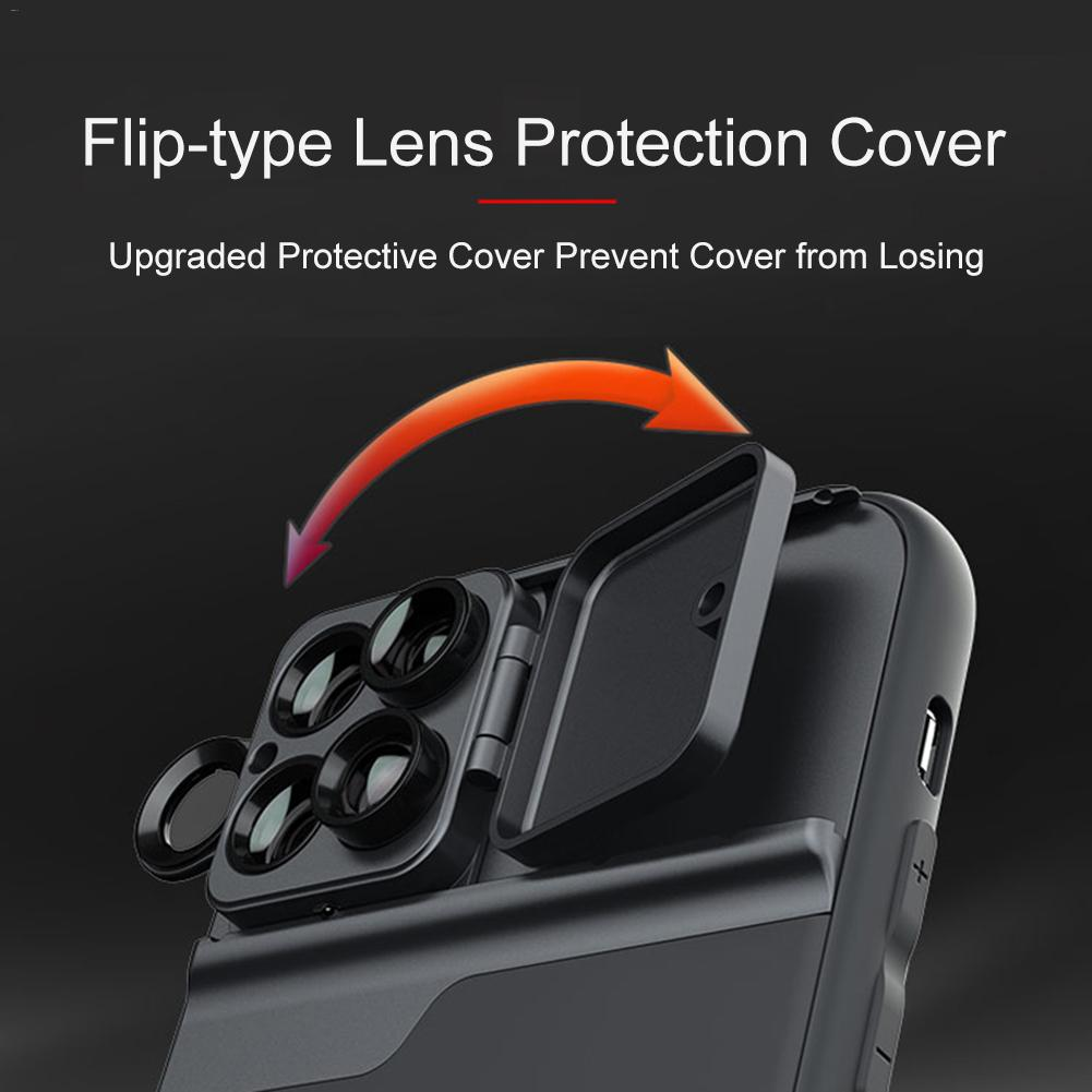 Phone Lens Cover Wide-Angle Filter Protective Lens Case Magical Vlog External Lens Protector Shell