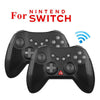 Switch Bluetooth Wireless Game Controller Handle with Charging Cable Set yellow
