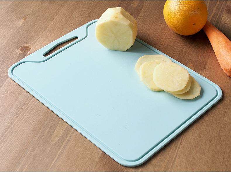 Flexible Non Slip Thicken Rectangle Silicone Cutting Board 29*21.5CM