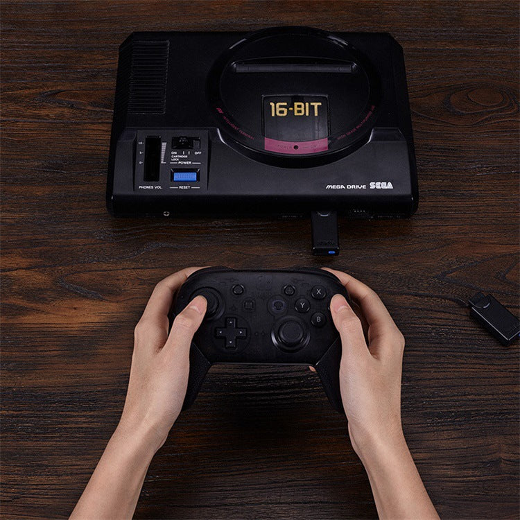 8BitDo M30 Wireless Bluetooth Gamepad for Nintend Switch Console for Sega Genesis Mega Drive Style Game Controller with Receiver black