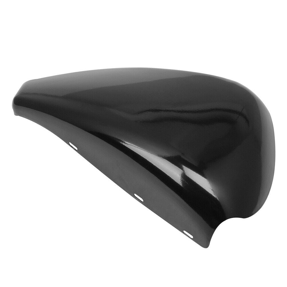 Motorcycle Left Battery Cover For  Sportster XL Iron 883 1200 2004-2013 Bright black