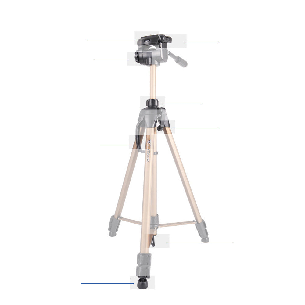 Portable Digital Camera Tripod DV Camera Mobile Tripod