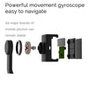 Smart Single Axis Stabilizer Stand Shockproof Head Selfie Camera Tripod Phone Stand black