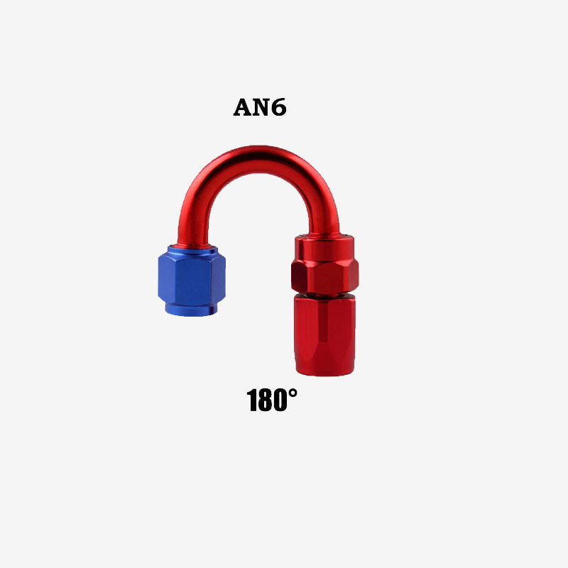 Professional AN6 Swivel Hose End Fitting Adapter for Oil/Fuel/Gas Hose Line