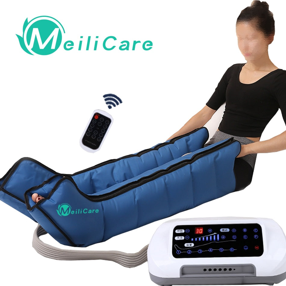 Air Compression Body Leg Foot Massager for Relaxed and Pain Relief - 4aces Gadets