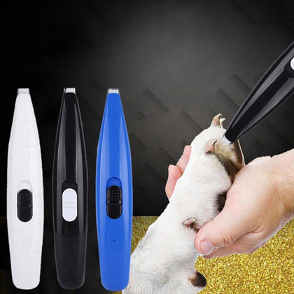 USB Electrical Pet Hair Trimmer - 4aces Gadets
