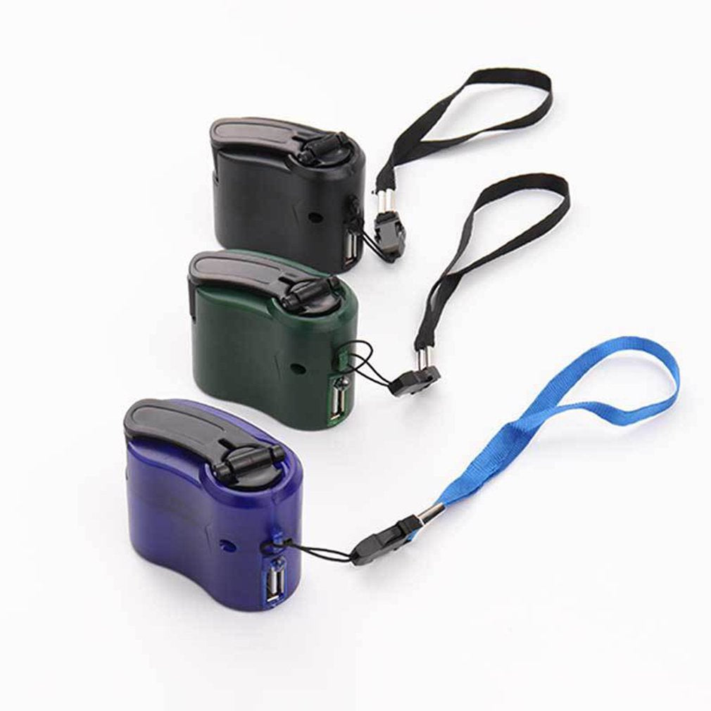 Emergency Power USB Hand Crank Charger Electric Generator - 4aces Gadets