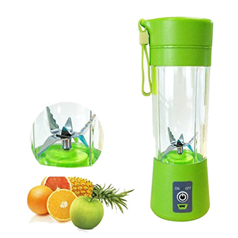 Portable Blender Mixing 380ml  USB Rechargeable Automatic Juicer