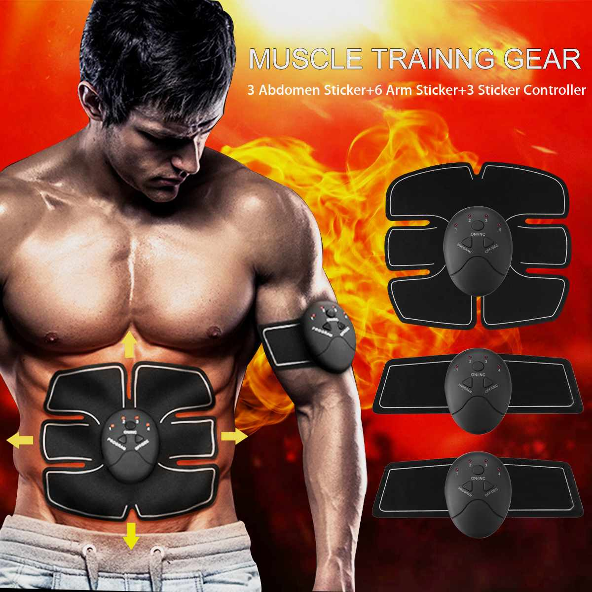 Muscle Training Gear 12pcs - 4aces Gadets