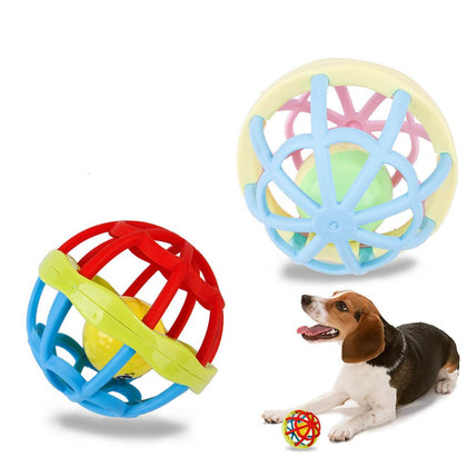 Soft Multifunction Dog and Cat Toy with Jingle Bell - 4aces Gadets