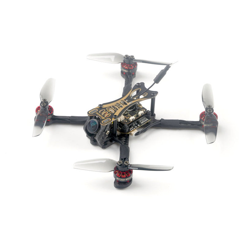 Eachine Novice-III 135mm 2-3S 3 Inch FPV Racing Drone RTF & Fly more w/ 5.8G 40CH EV800 Goggles 2.4G ER8 Transmitter - 4aces Gadets