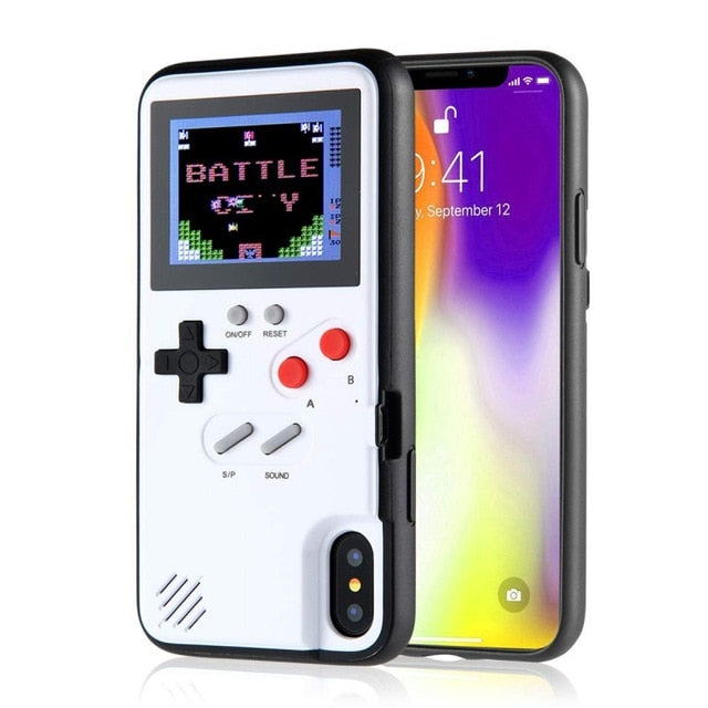 Retro 3D Case With 36 Small Games for iPhone 11 11 Pro Max 6s 7 8 Plus for INTERNATIONAL SHIPPING