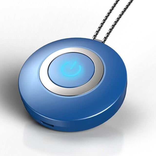 Personal Air Purifier Usb Necklace  Ion Air Freshener