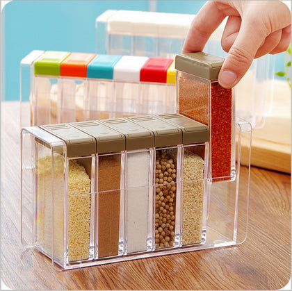 Kitchen Seasoning Jars