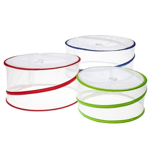 3PCS Food Covers Collapsible Outdoor Protectors