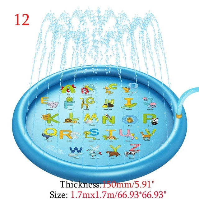 Children Outdoor Inflatable Spray Water Toy