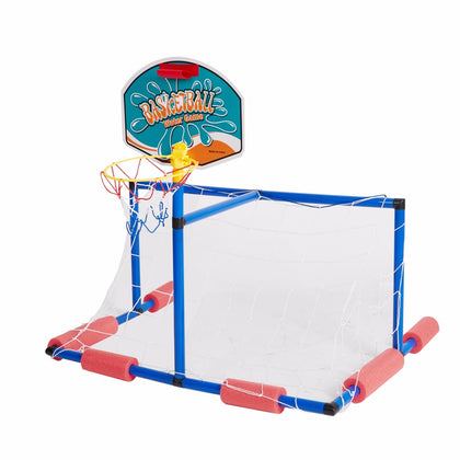 2 in 1 Water Sport Game Basketball Stand Soccer Goal  for Play