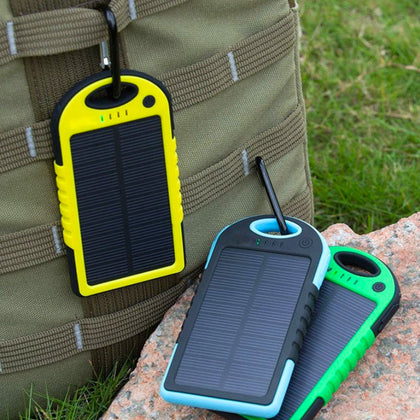 Centechia Waterproof Solar Power Bank - 4aces Gadets