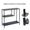 Storage Rack Simple Book Shelf for Living Room Study Bedroom Organize black