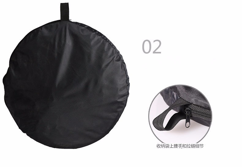 80cm 5 in 1 Portable Collapsible Light Round Photography/Photo Reflector for Studio Five in one