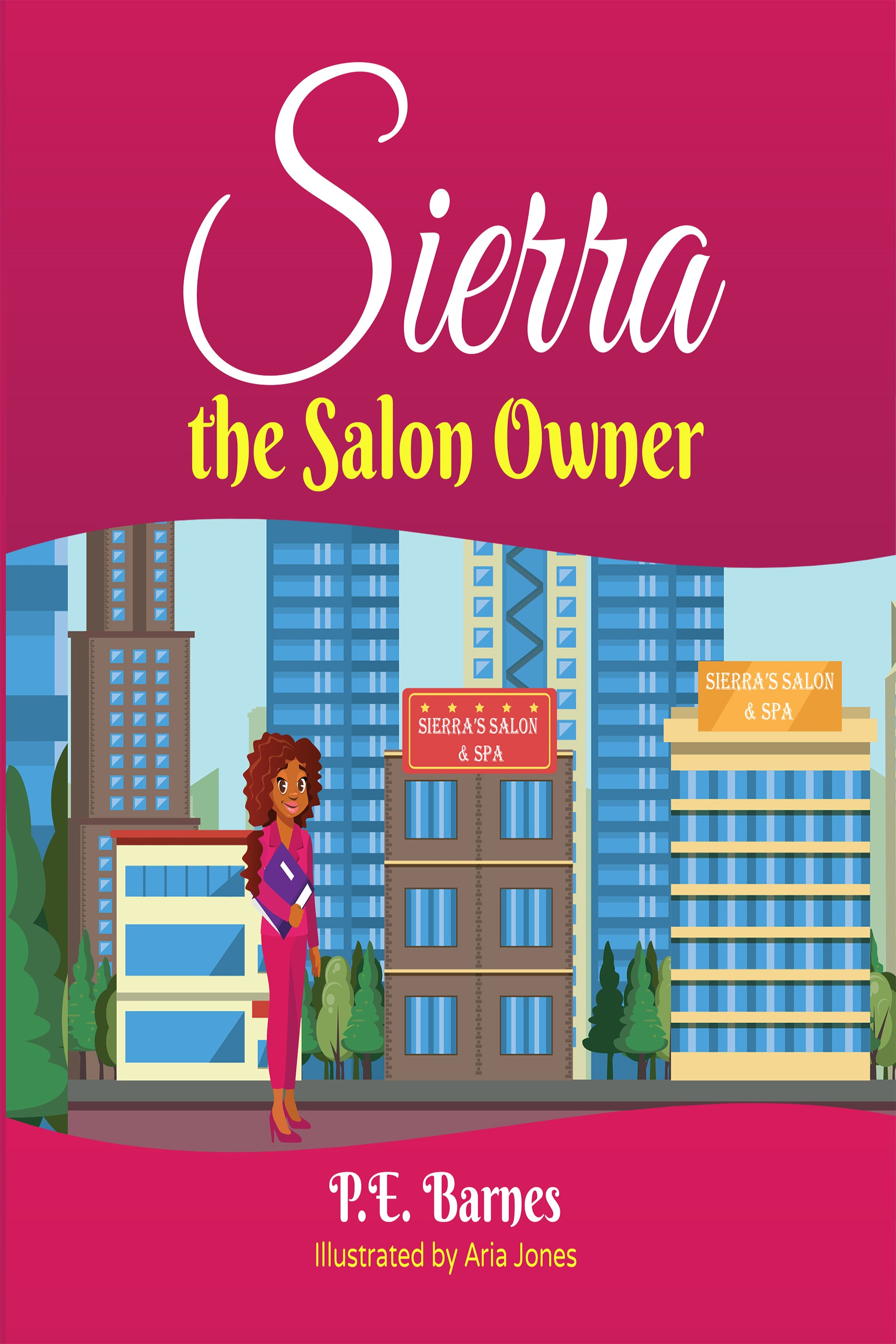 Sierra the Salon Owner (Ages 6-12)