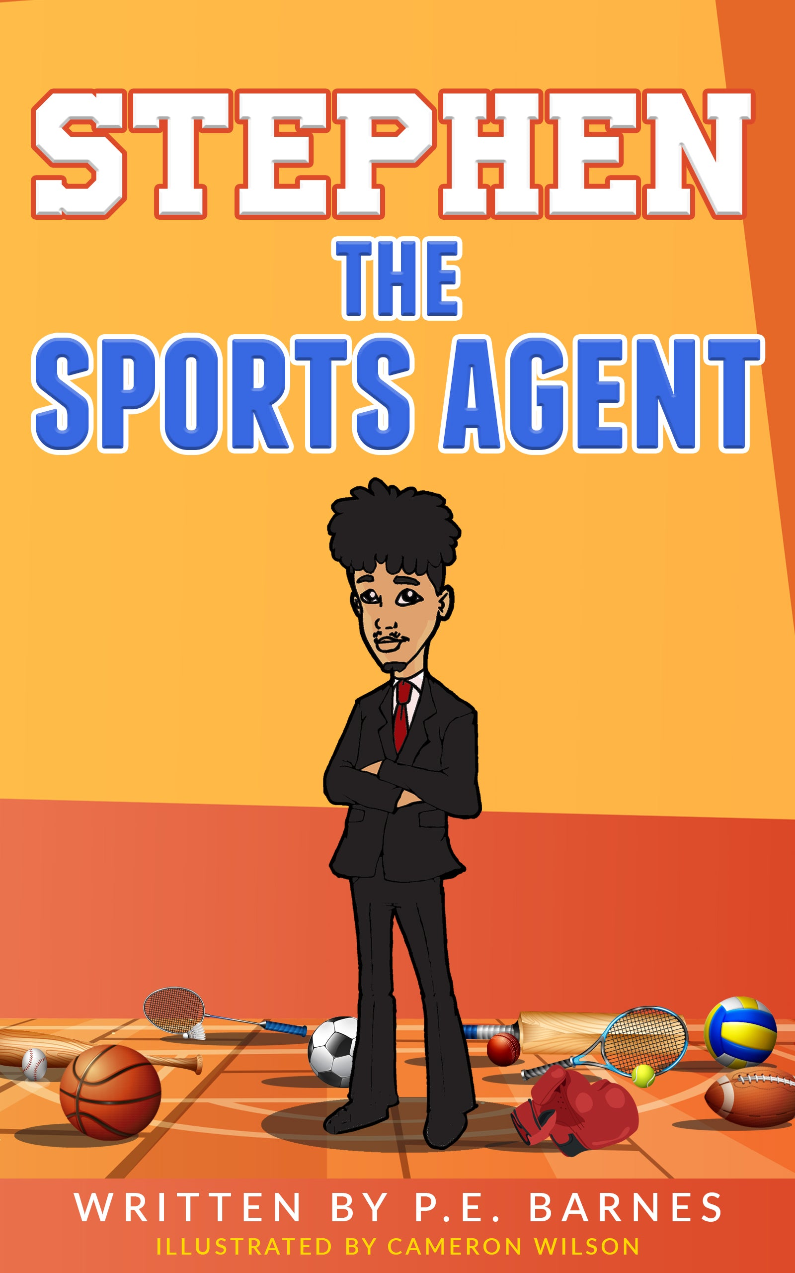 Stephen the Sports Agent (Ages 9-12) ⭐️⭐️⭐️⭐️⭐️
