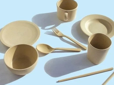A Glimpse of Natural, Eco-Friendly Tableware Product