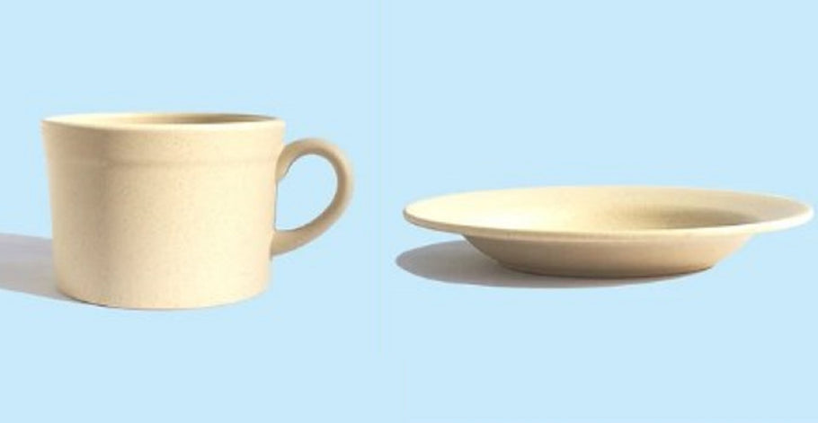 Natural Compostable Tableware for Restaurants and Cafes