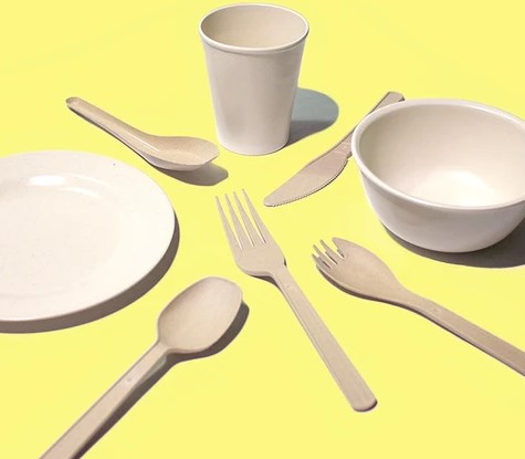 Natural Compostable Tableware