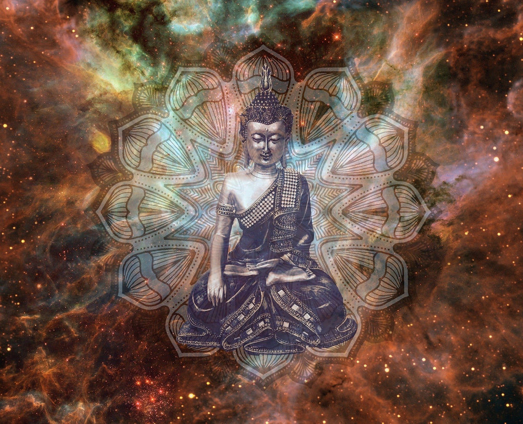 Buddha by S. Hermann & F. Richter Diamond Painting Kit - The Diamond Painting Factory