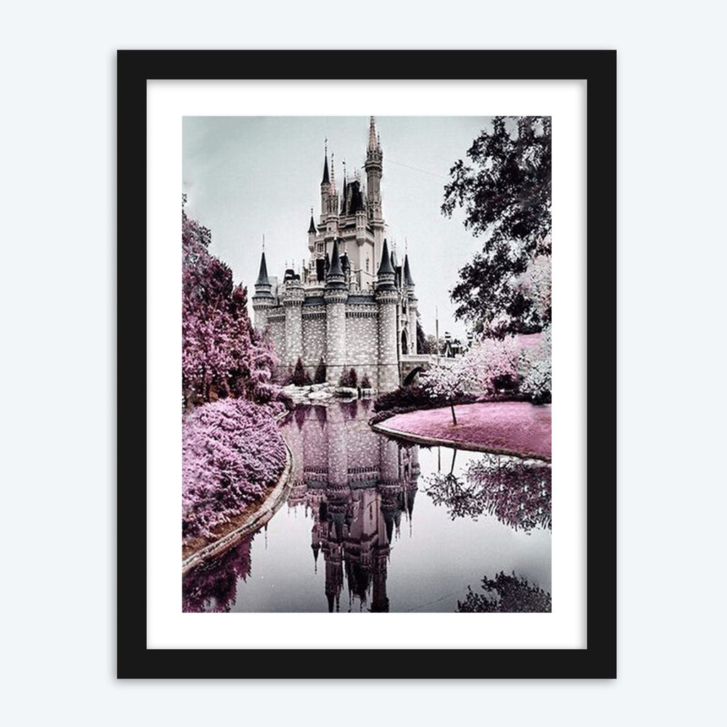Disney Castle - The Diamond Painting Factory