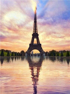 Eiffel Tower Diamond Painting Kit - The Diamond Painting Factory