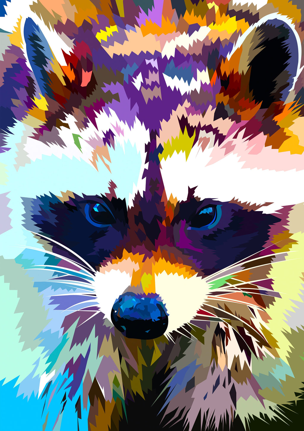 EXCLUSIVE Elvira Clement - Raccoon - The Diamond Painting Factory