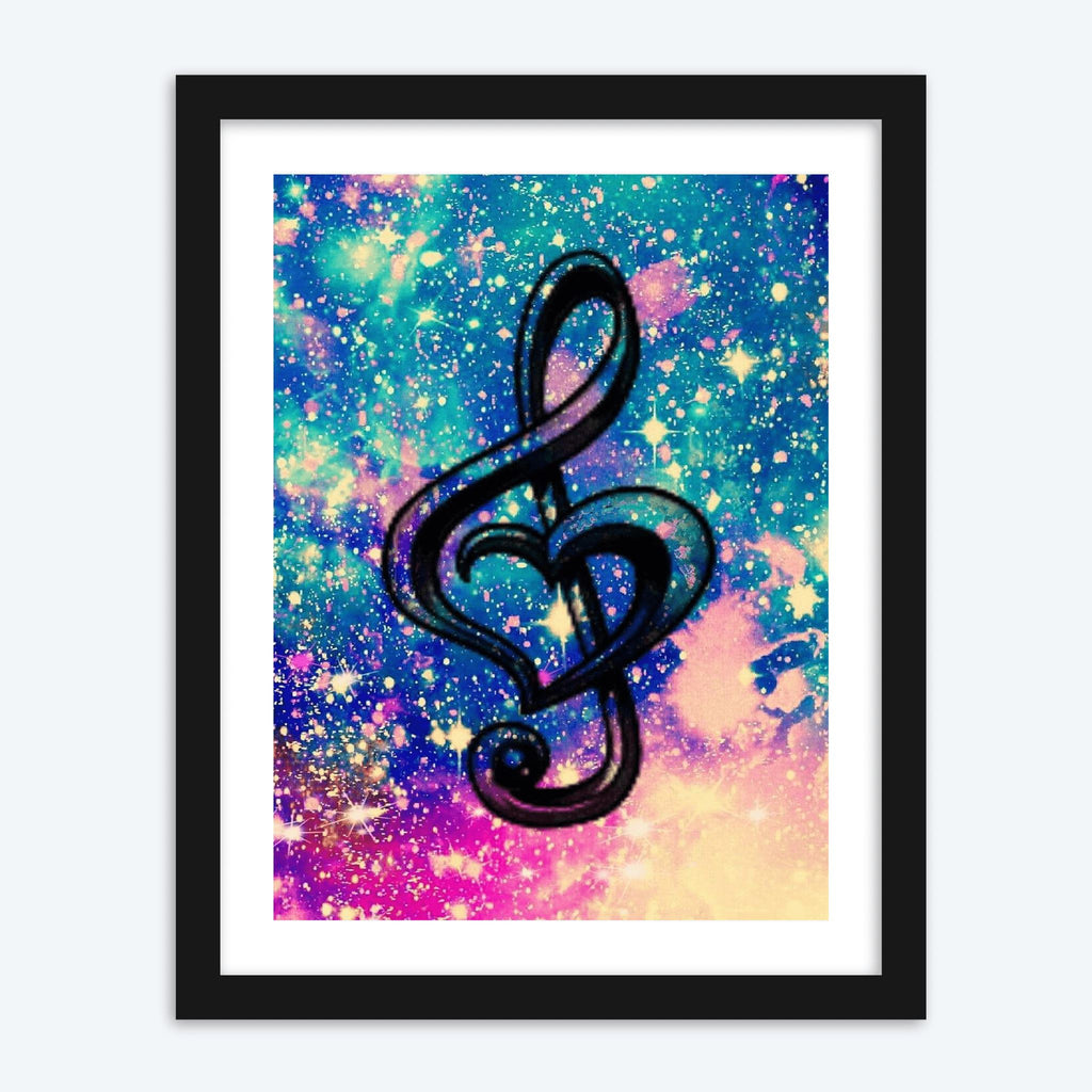 Love Music Note - The Diamond Painting Factory