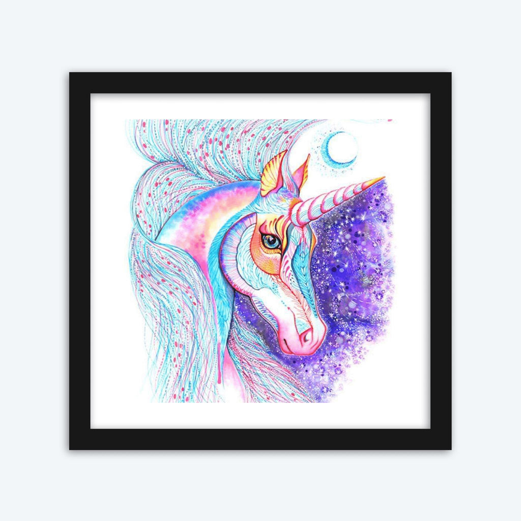Pattern Unicorn Diamond Painting Kit - The Diamond Painting Factory