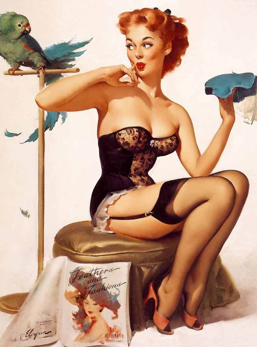 Pinup Polly Diamond Painting Kit - The Diamond Painting Factory