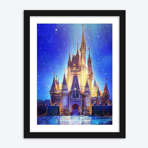 UK STOCK Disney Magic Kingdom - The Diamond Painting Factory