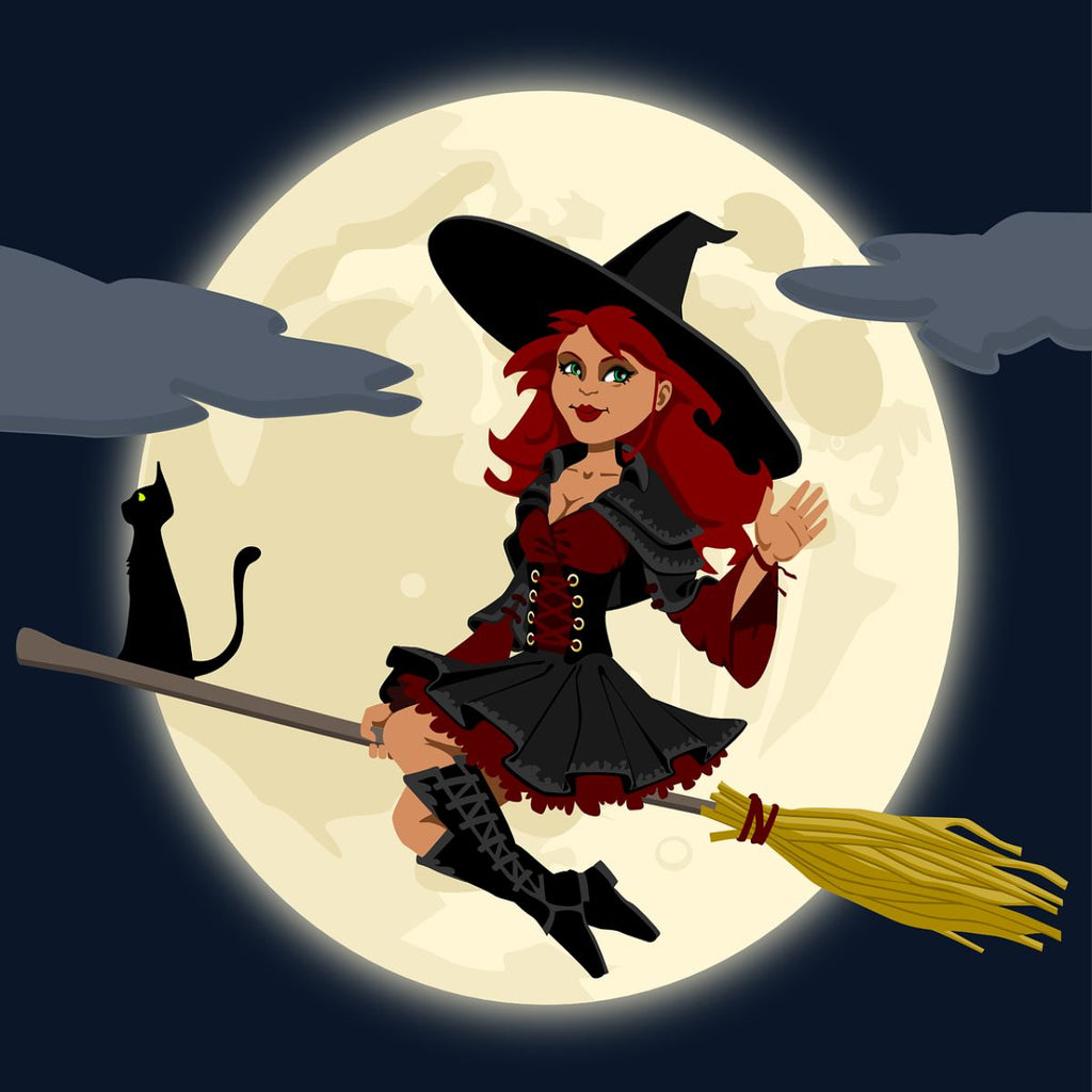 Witchy Halloween Diamond Painting Kit - The Diamond Painting Factory