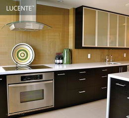 Emser Lucente Pewter Glass Glossy 3x6-W80LUCEPE0306
