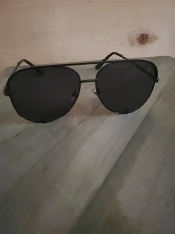 Jaden Dark Horse in Black Sunglasses by American Bonfire Co