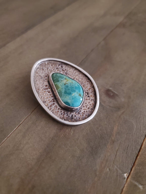Sterling Silver and Turquoise Pendant