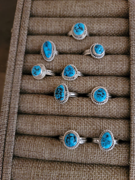 Tatum Skeets Sterling Silver and Turquoise Ring