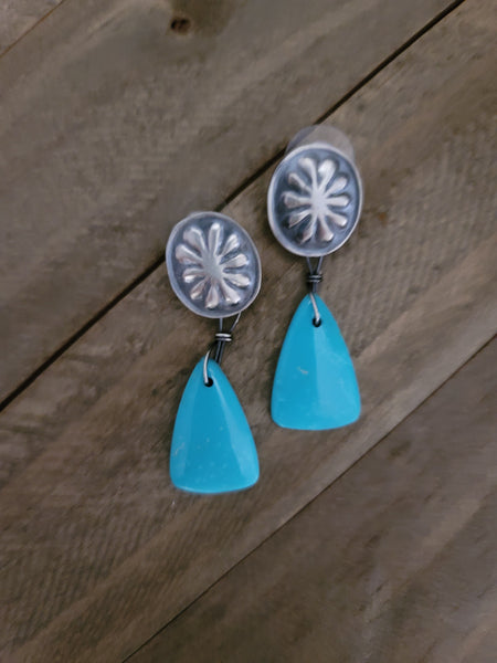 Benson Shorty Slab Earrings